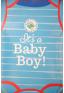 1 ballon hélium IT'S A BABY BOY