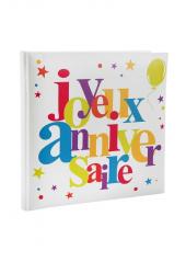 1 livre d'or JOYEUX ANNIVERSAIRE multicolore