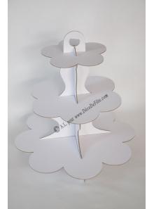 1 présentoir à cupcake blanc