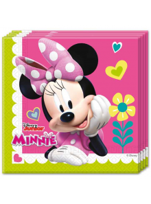 20 Serviettes Anniversaire Minnie