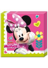 20 Serviettes Anniversaire Minnie