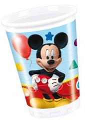 8 gobelets Anniversaire Mickey