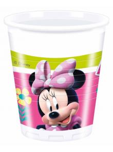 8 gobelets Anniversaire Minnie