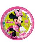 8 Assiettes Anniversaire Minnie