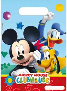 6 sacs cadeaux Anniversaire Mickey