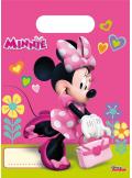 6 sacs cadeaux Anniversaire Minnie