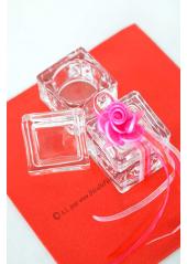 1 Boite cube 5cm VERRE Rudolphe