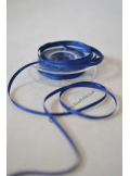 25m Ruban 3mm satin bleu nuit