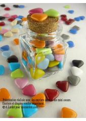 150g Petits coeurs multicolores