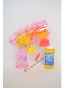 1 pistolet à bulle mécanique lumineux