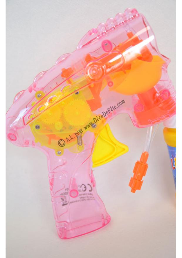 1 pistolet bulle lumineux - Tube a bulle lumineux ...