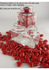 150g Petits coeurs rouges