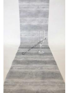 5M chemin de table planche grise
