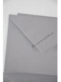 10 Enveloppes à MENU grises