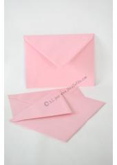 10 Enveloppes à MENU rose