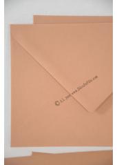 10 Enveloppes à MENU caramel