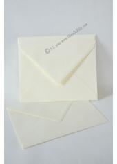10 Enveloppes à MENU ivoire