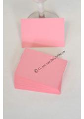 50 Mini Carte vieux rose