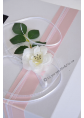 1 Urne tirelire EVA rose pâle