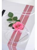 1 Urne EVA rose vieux