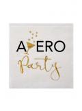20 serviettes cocktail APERO party
