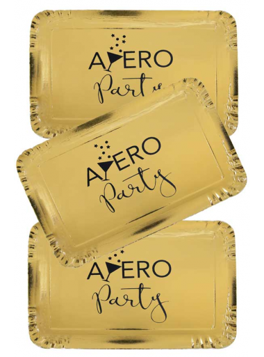 5 plateaux APERO party or
