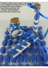 1kg Dragées chocolat bleu océan