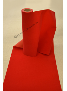 5M Chemin de table VELOURS rouge