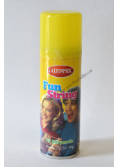 1 bombe fil serpentin jaune