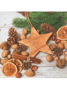 20 Serviettes douceurs de Noël