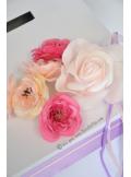 1 Urne tirelire MARGOT rose lavande