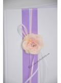 1 Livre d'or MARGOT rose lavande