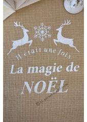 5M chemin de table MAGIE de NOEL