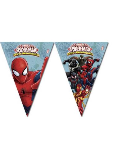 1 guirlande Anniversaire Spiderman