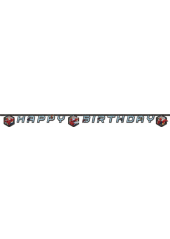 1 guirlande Happy Birthday Spiderman