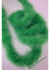 1 boa marabout vert sapin