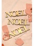 6 JOYEUX NOEL bois nature