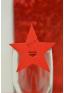 12 Etiquettes etoile rouge