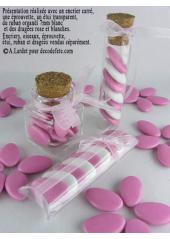 1kg Dragées chocolat rose nacré