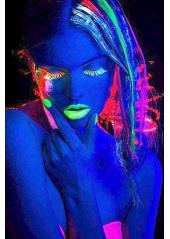 1 stick UV fluo bleu