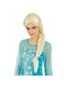 1 Perruque Princesse reine des neiges