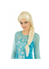 1 Perruque Princesse reine des neiges