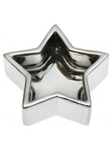 50 Coupelles étoile argent