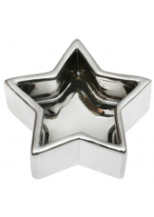 1 Coupelles étoile argent