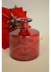 1 vase NOEL rouge