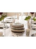 ruban tour de gâteau chocolat