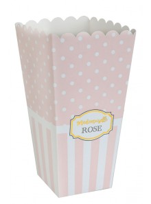 8 boites rayures Mademoiselle ROSE