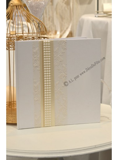 1 Livre d'or Blanc JOSEPHINE