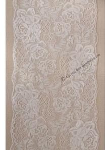 3M dentelle satin blanc JOSEPHINE 18cm