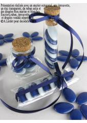 1kg Dragées chocolat bleu marine